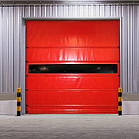 Coated Fabrics - Example Fast Roll Up Doors