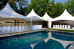 Coated Fabrics – Attractive tent roofs