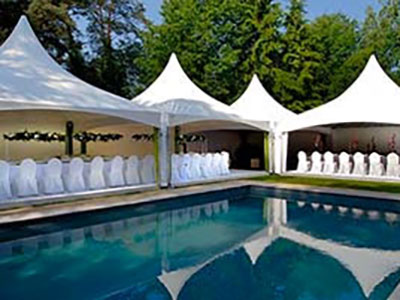 Beschichtete Gewebe – Events marquees & party tents - Example 1